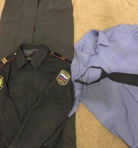 Форма полицейская