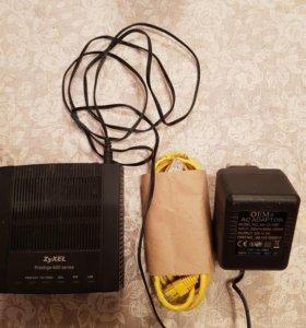 Модем для линий с квартирной сигнализацией