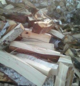 В наличии дрова колотые