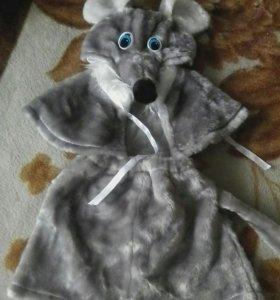 Костюм новогодний мышки