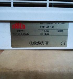 теплавентелятор навесной