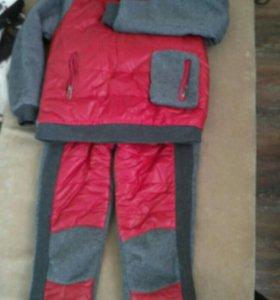 Тёплый костюм р.130-140