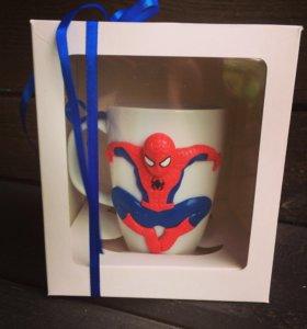 Чашка «человек-паук»