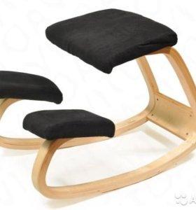 ортопедический стул с упором в колени для осанки