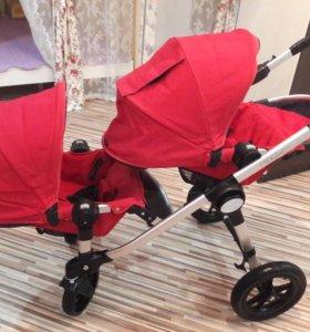 Baby Jogger City Select для двойни или погодок