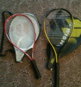 Продам 2 детские теннисные ракетки