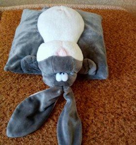 Подушка детская заяц