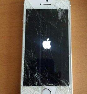 Iphone 5s 64gb gold на запчасти