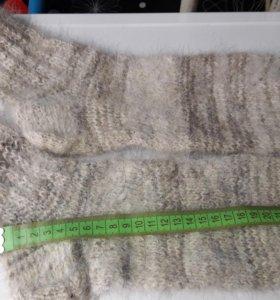 Вязанные носки из собачей шерсти
