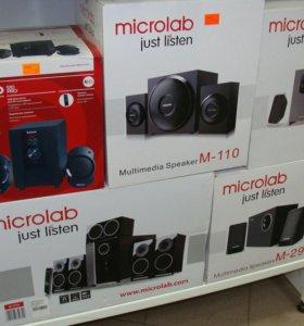 Новая акустика Microlab 2.1
