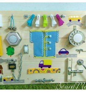Развивающие игрушки бизиборд