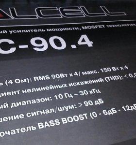 Calcell vac-90.4 усилитель 4х канальный,новый