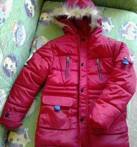 Новая! Куртка зимняя