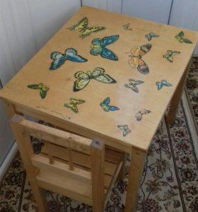 Столик+стульчик детский