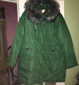 Куртка парка 58-60 пуховик