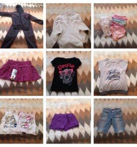 Вещи пакетом на девочку 6-8 лет