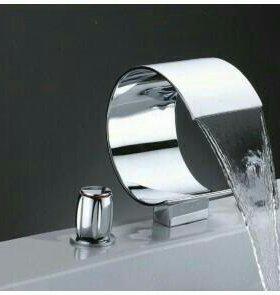 Смеситель для ванны водопад