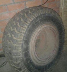 Резина с ободом (1 шт) 15,5/65-18 КФ-105А