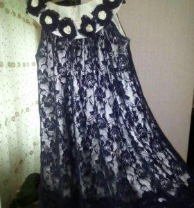Платье для девочки 6-8 лет.