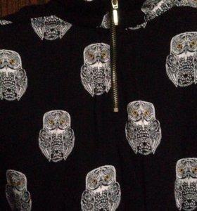 Блуза р.44-46.шелк.новая.H&M
