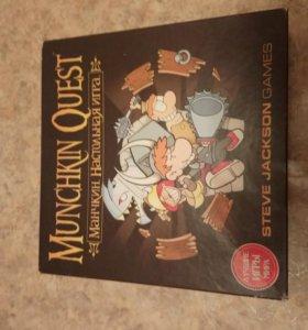 Настольная игра Munchkin Quest