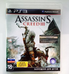Игра для PS3 Assassin's creed 3