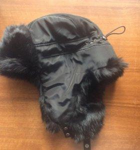 Продам шапку зимнюю Мех кролик, размер 57, новая