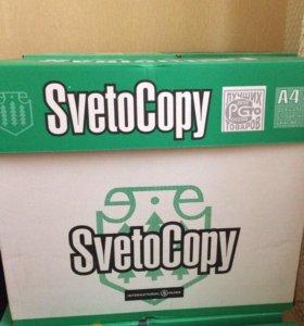 Продам Бумагу SvetoCopy А4, для принтера