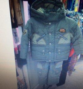 Продам зимний костюм на мальчика с 4-6 лет