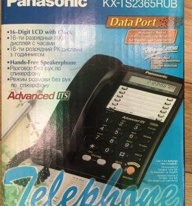 Телефон новый Панасоник KX-TS2365RUB