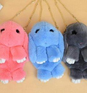 Сумка-рюкзак кролик 2 шт