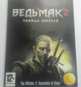 диск игры ВЕДЬМАК 2