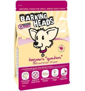 Barking Heads мелких пород с уткой и бататом 4КГ