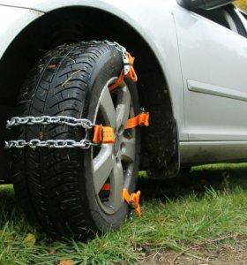 Цепи - браслеты на колеса