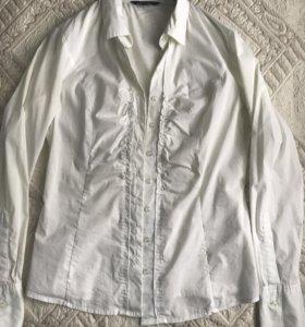 Блуза - рубашка женская белая
