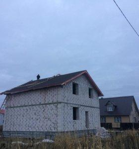 Строительство домов, зданий, сооружений, гаражей