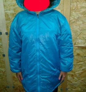 Куртка женская утепленная 54-56