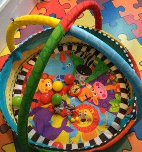 Развивающий коврик playgro Цирк
