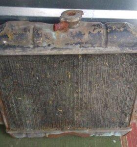 Радиатор латунный на волгу 24