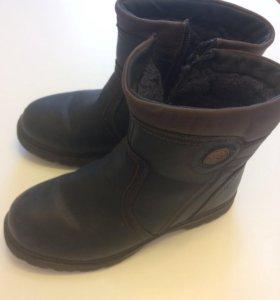 Зимние ботинки 34 размер