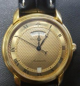 Часы мужские Maurice Lacroix позолоченные