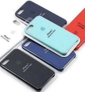Silicone case для iPhone 7/8