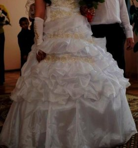 свадебное платье на карсете+ креналин