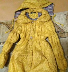 Осенняя куртка на 5-7 лет