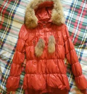 Пуховик женский куртка