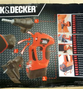 Детская развивающая игрушка BLACK & DECKER 3 в 1