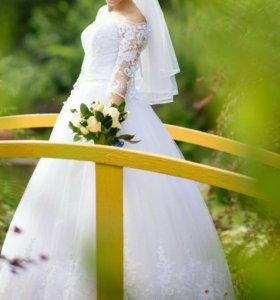 Свадебное платье!!!
