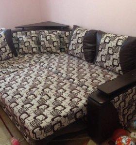 Продам диван-кровать(комплект)