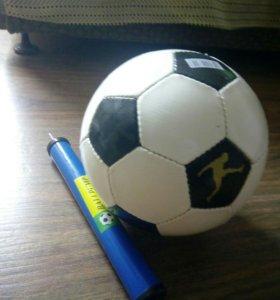 Футбольный мяч + Насос