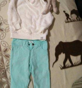 Стильный комплект Ergee для маленькой модницы